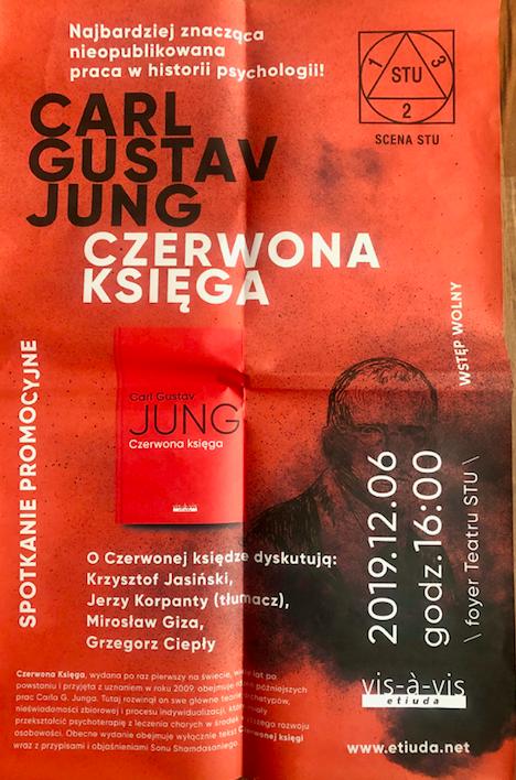 "Carl Gustav Jung ""Czerwona Księga"" 6 grudnia 2019 r., Teatr STU Kraków"